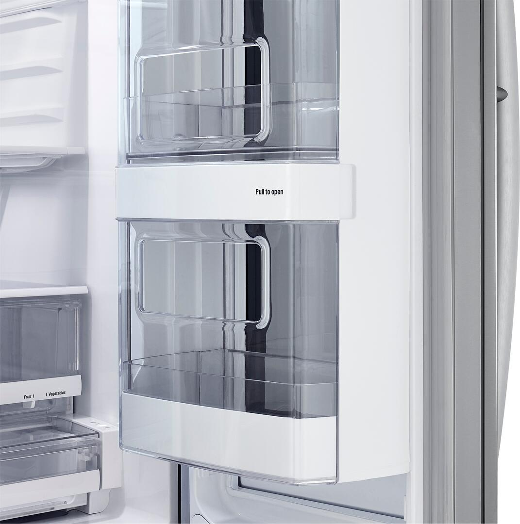 LG LFXS28596S 36 Inch Smart Stainless Steel French Door Refrigerator ...