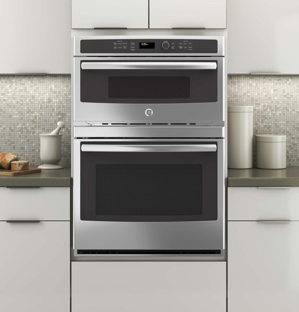 Ge Jt3800shss 30 Inch Stainless Steel Oven Microwave Combo Double Spacemaker Wiring Diagram Sample Installation