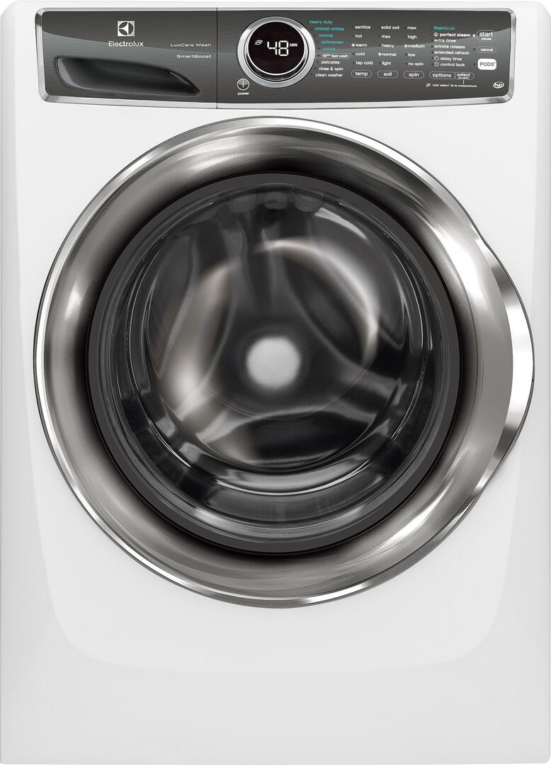Electrolux EFLS627UIW 4 4 cu  ft  27 Inch Front Load Washer