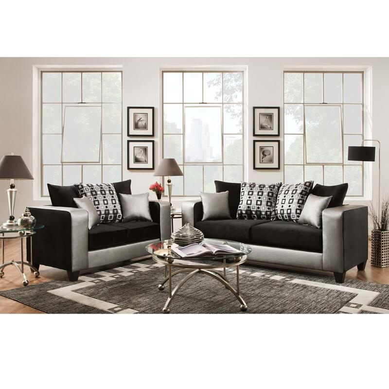 Flash furniture rs412005lssetgg contemporary living room for Family code 7822