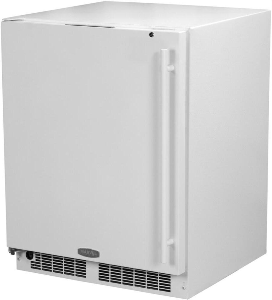 Marvel Ma24ras2lw 24 Inch Compact Refrigerator With 4 6 Cu
