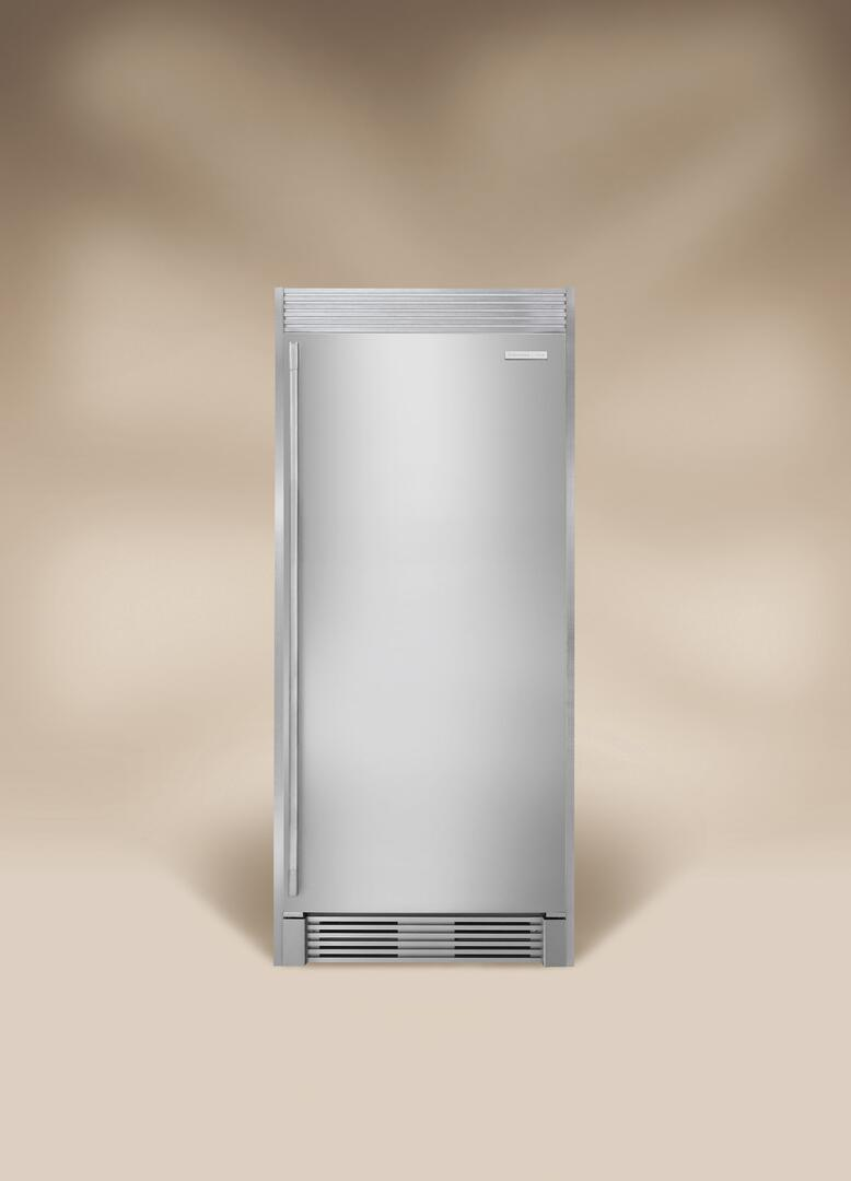 electrolux icon front view with trim kit and beige background