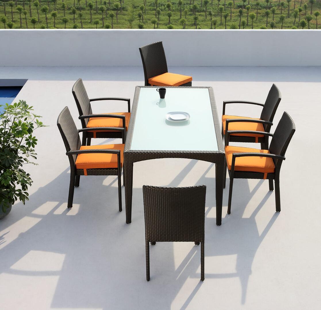 Vig furniture vgmnmississippi modern rectangular shape for Outdoor furniture 0 finance