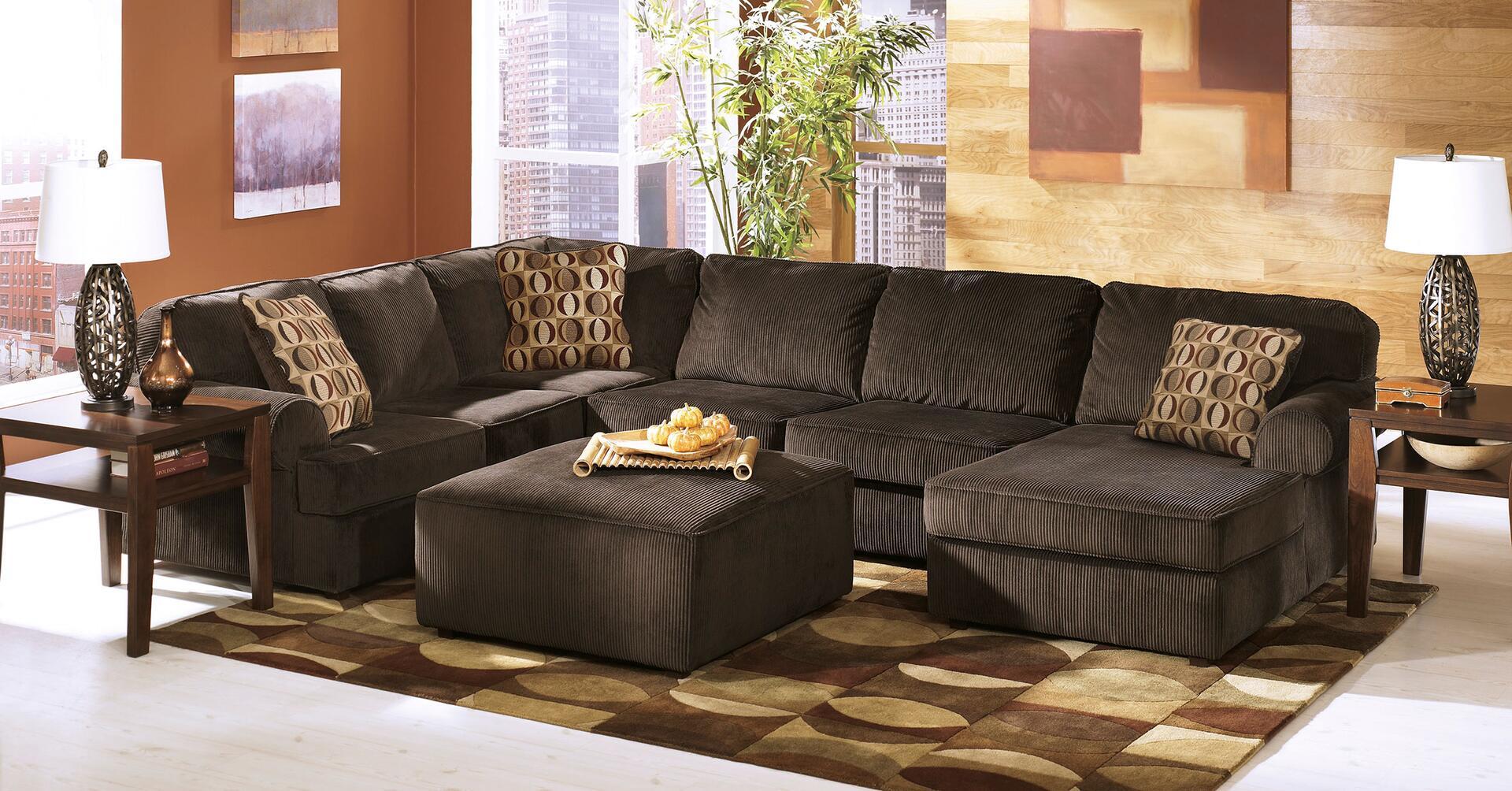 Ashley Vista Series Stationary Fabric Sofa