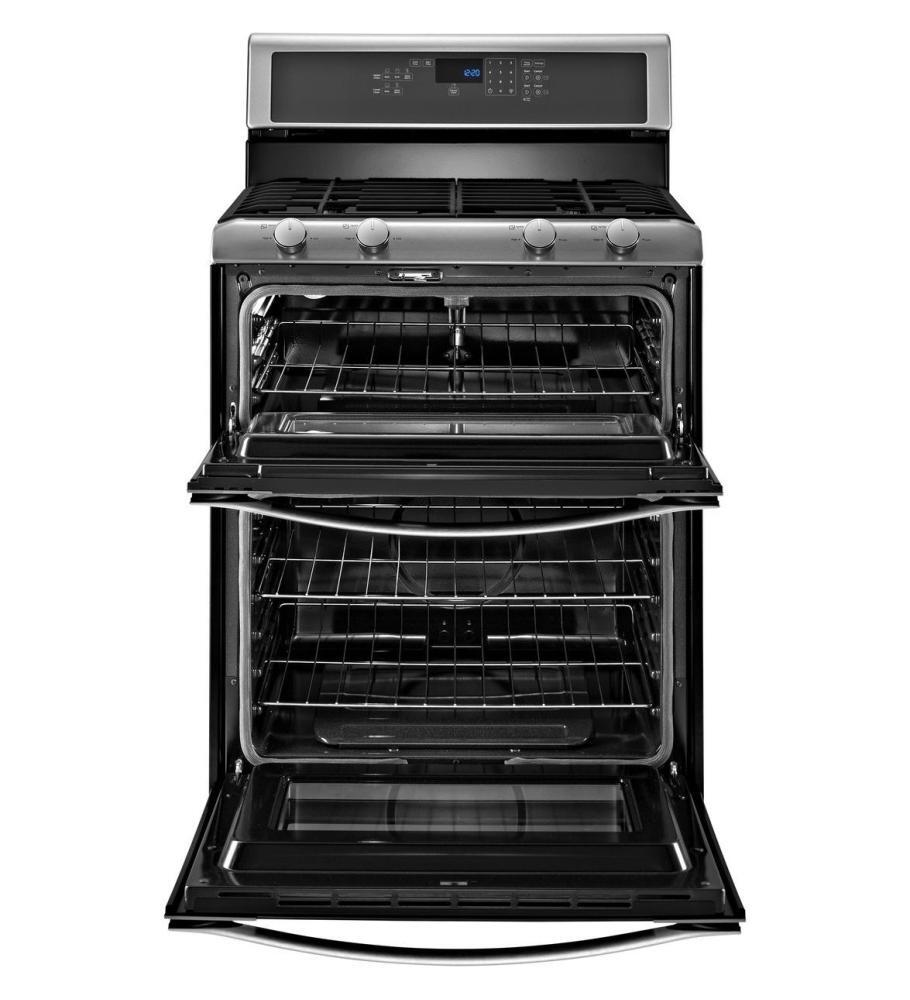 Whirlpool Wgg555s0bb 30 Inch Gas Freestanding Range With