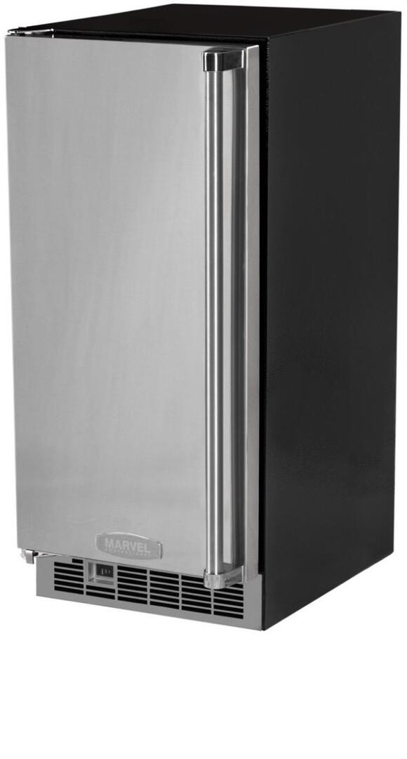 Marvel MPRO30IMTBSLP Professional Series 15 Inch Stainless Steel Freestanding on