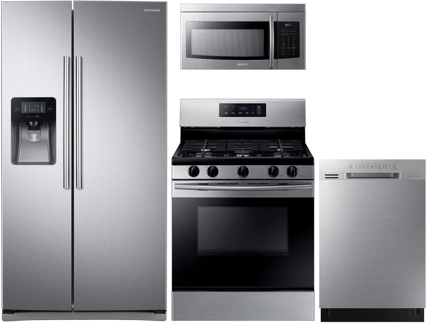 Samsung 1000683 4 piece Stainless Steel Kitchen Appliances Package