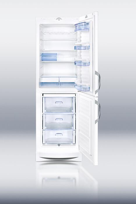 Summit Cp171w Counter Depth Bottom Freezer Refrigerator