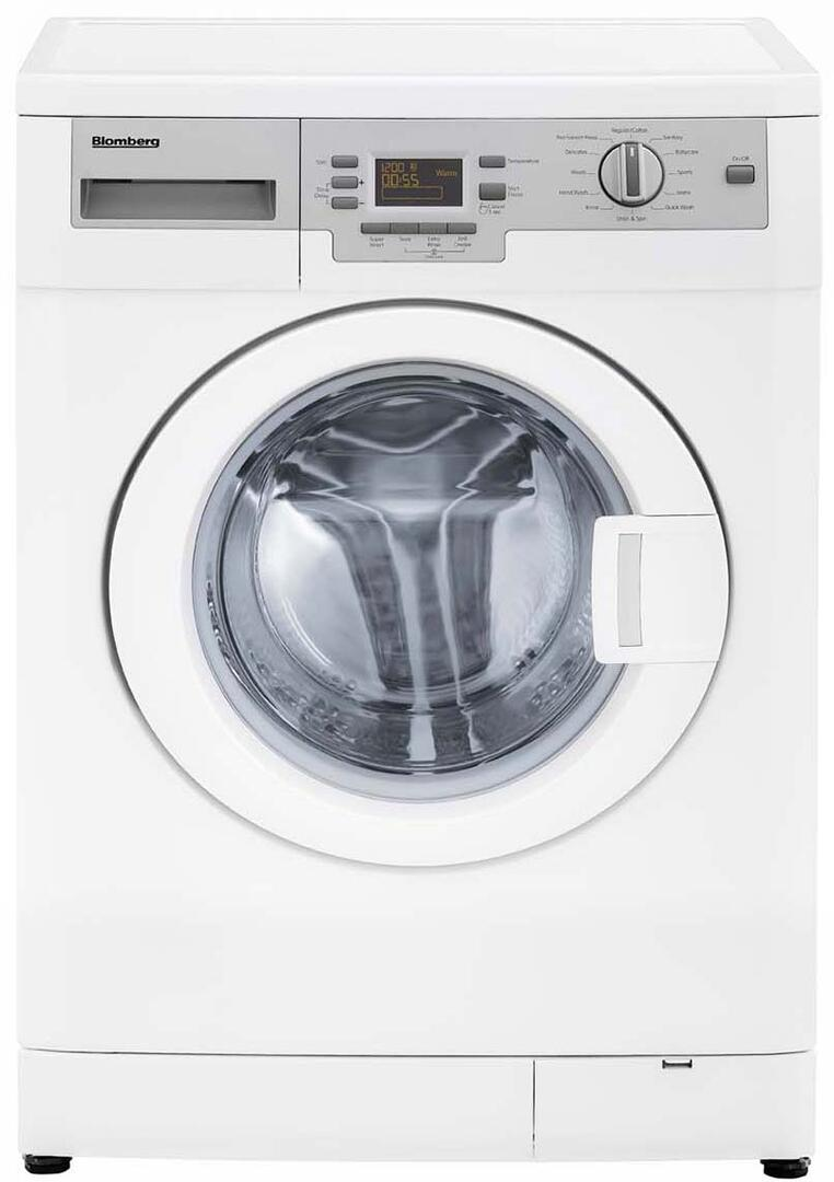 Blomberg Wm87120 24 Inch 2 15 Cu Ft Front Load Washer