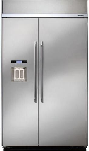 Dacor dyf42bsiws 42 inch discovery series counter depth for Dacor 42 refrigerator