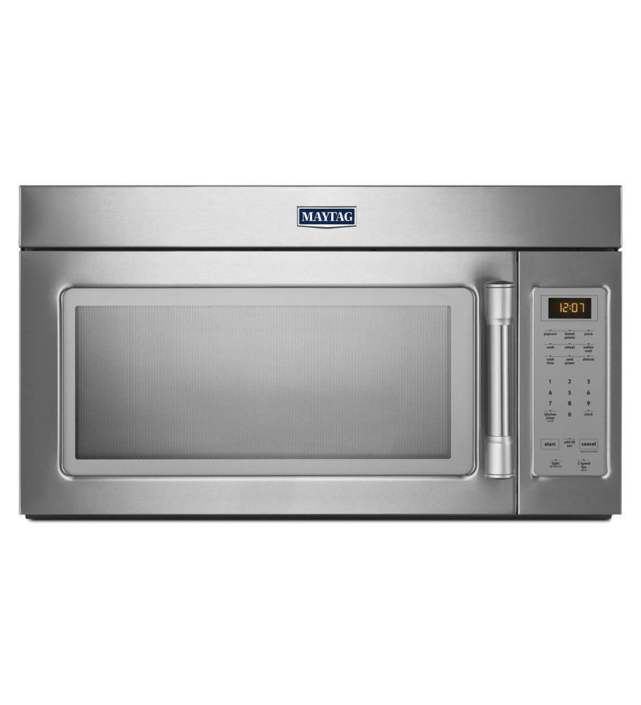 Ge Appliance Warranty >> Maytag MMV1174DH 1.7 cu. ft. Over the Range Microwave Oven ...