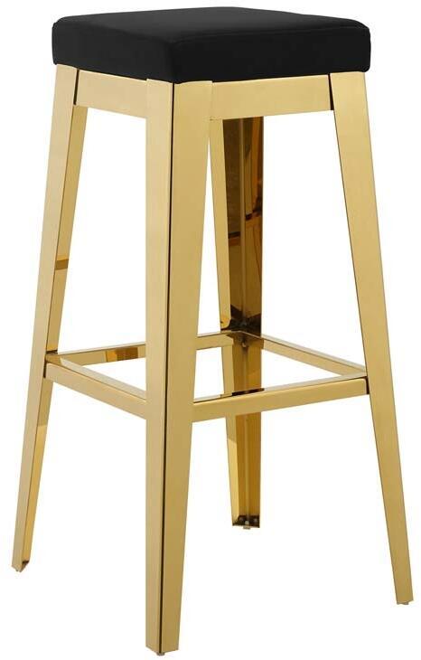 Magnificent Modway Eei3268Gldblk Short Links Chair Design For Home Short Linksinfo