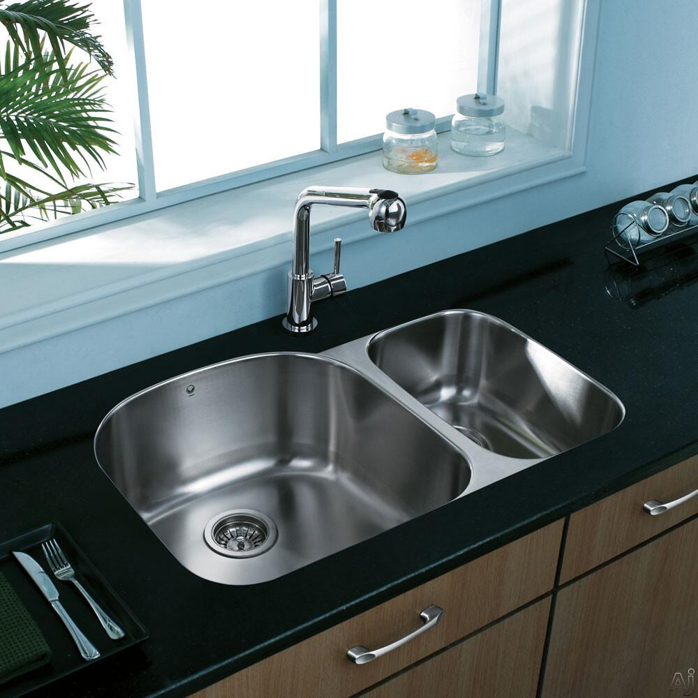 Vigo VG3121LK1 Stainless Steel Kitchen Sink | Appliances Connection