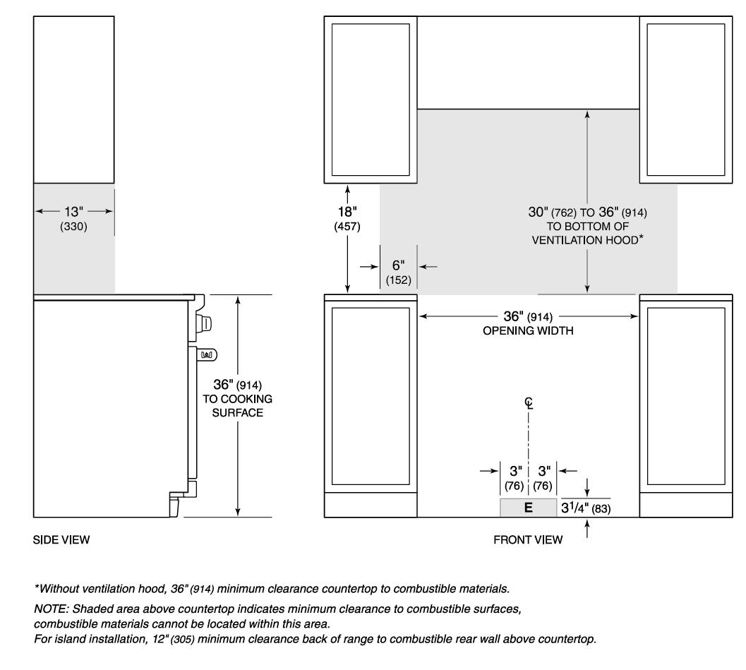 Wolf Range Wiring Diagram Library Microwave Installation Dimensions