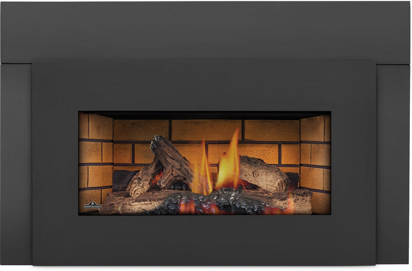 Napoleon Ventless Gas Fireplace ImagesVent On