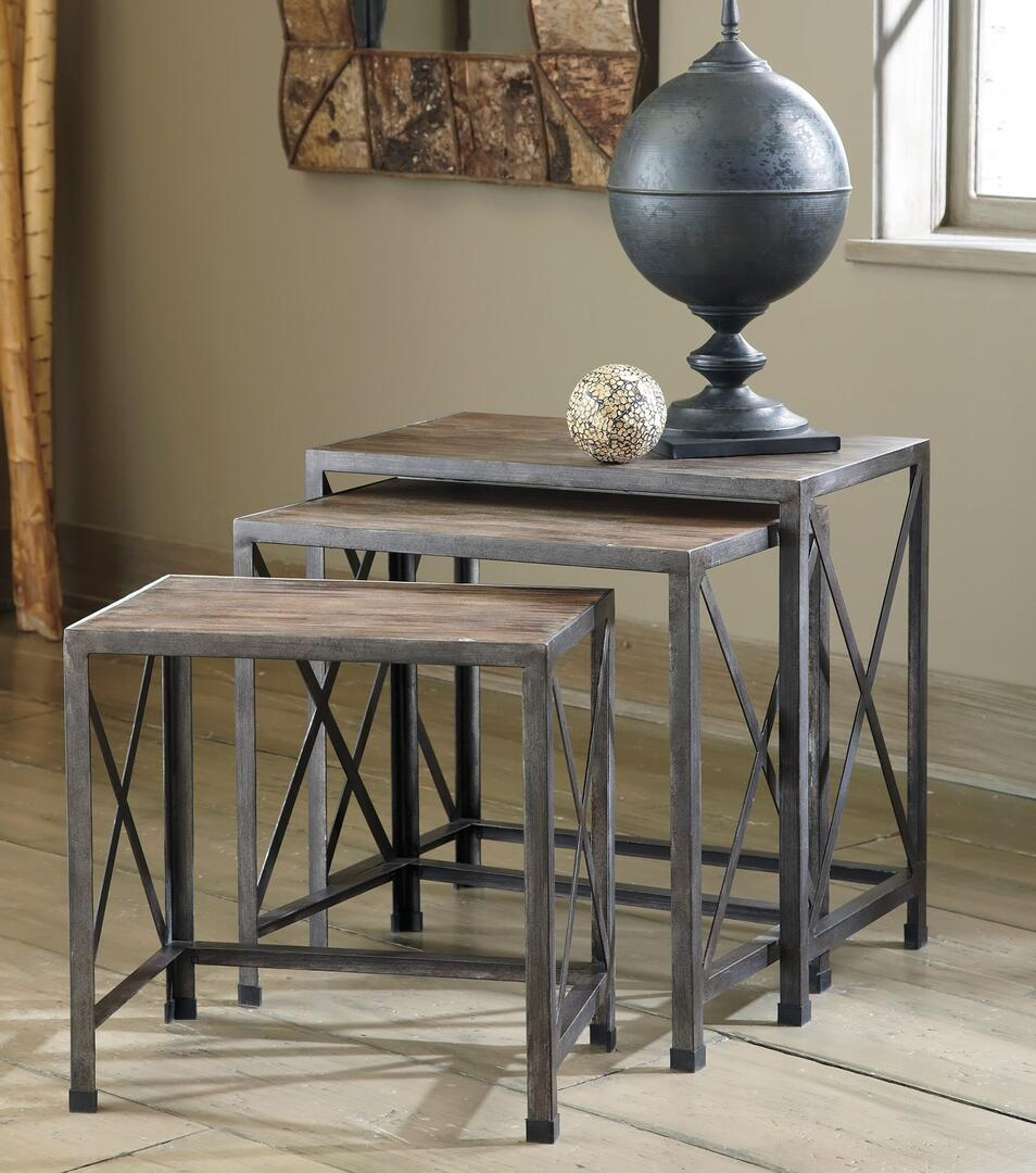 Signature design by ashley t500716 rustic accents series for Spl table 98 99