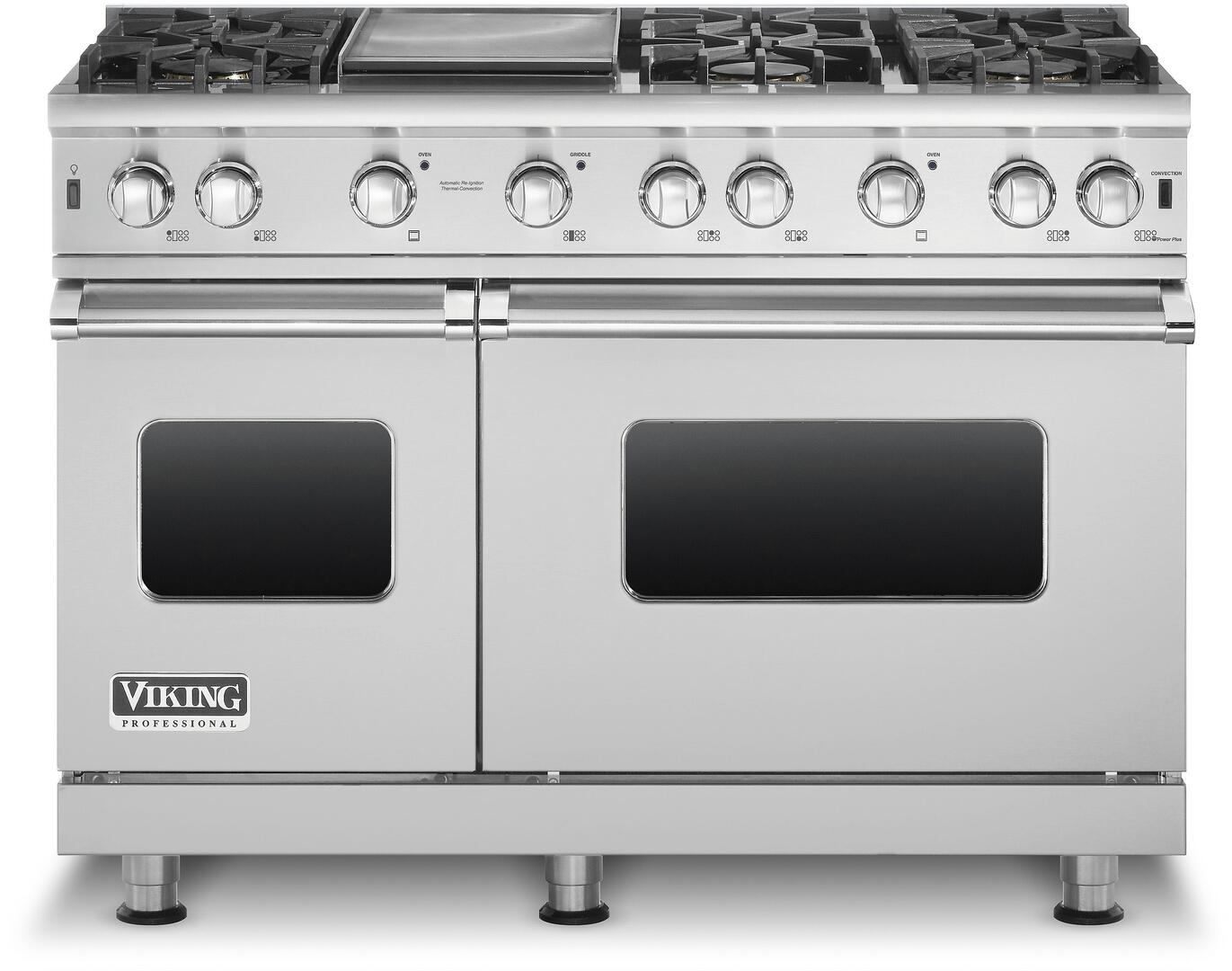 Viking VGCC5486GSS 48 Inch 5 Series Gas Freestanding Range with ...