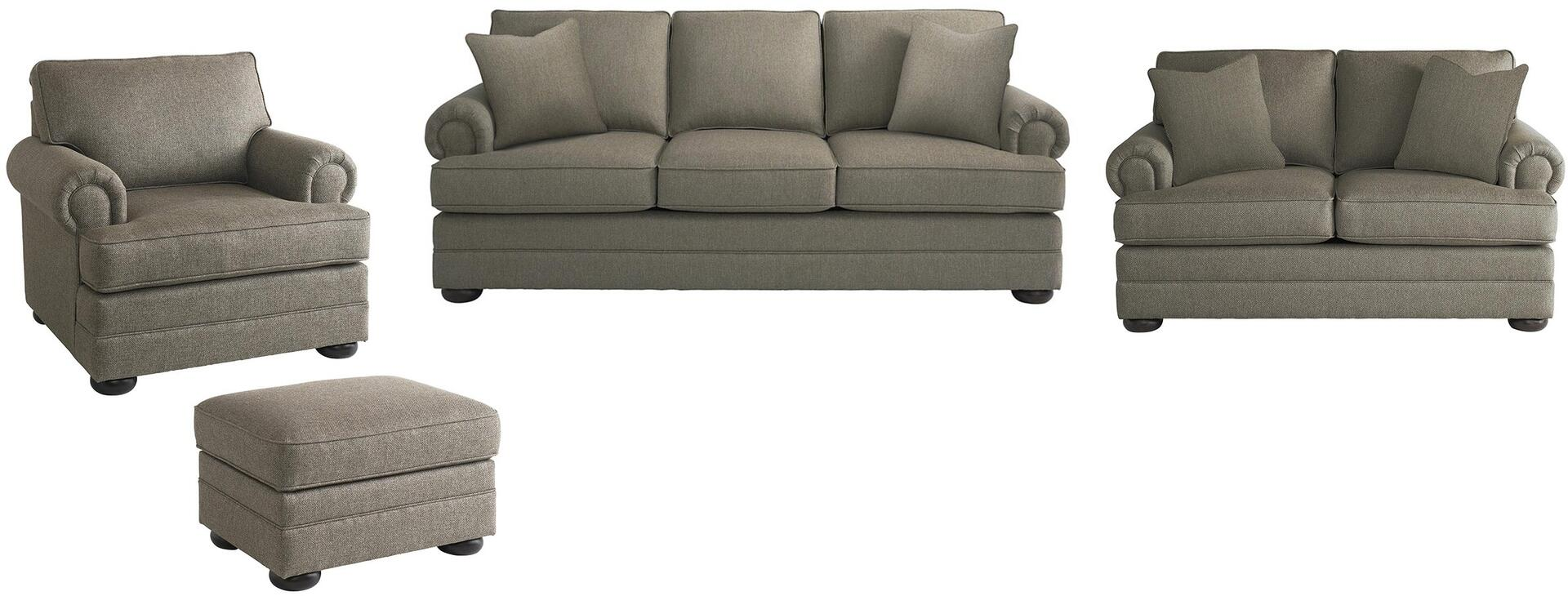 Bassett Furniture 3913fcfc1618slco Hyde Park Living Room Set Appliances Connection