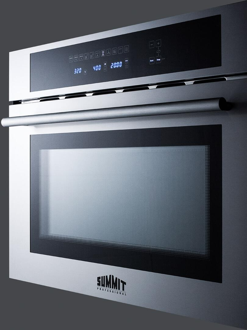 Summit CMV24 24 Inch Single Wall Oven , in Stainless Steel ...