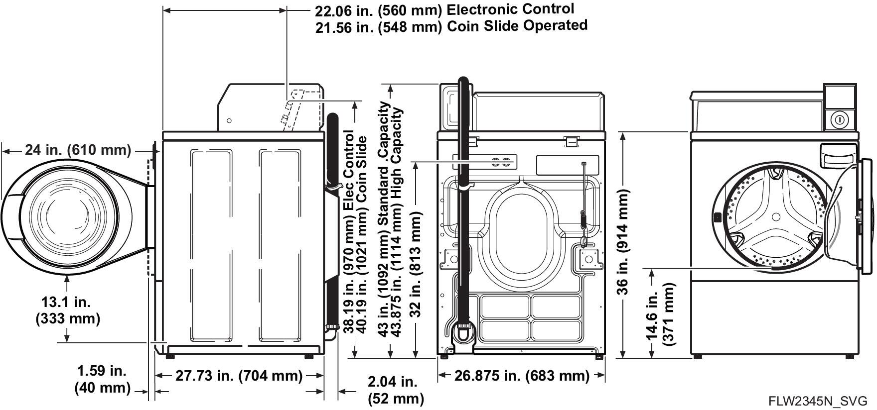 Speed Queen Sfnncrsp115tw02 Appliances Connection Washing Machine Wiring Diagram Main Image Control 1