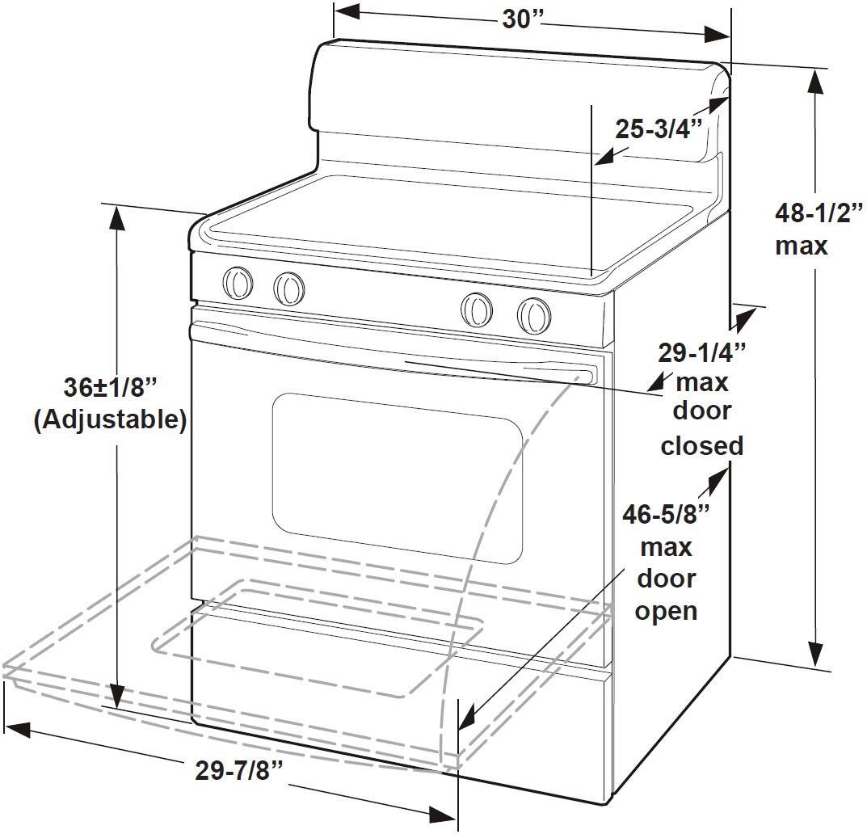 frigidaire dggf3054kf 30 inch gallery series gas freestanding range with sealed burner cooktop