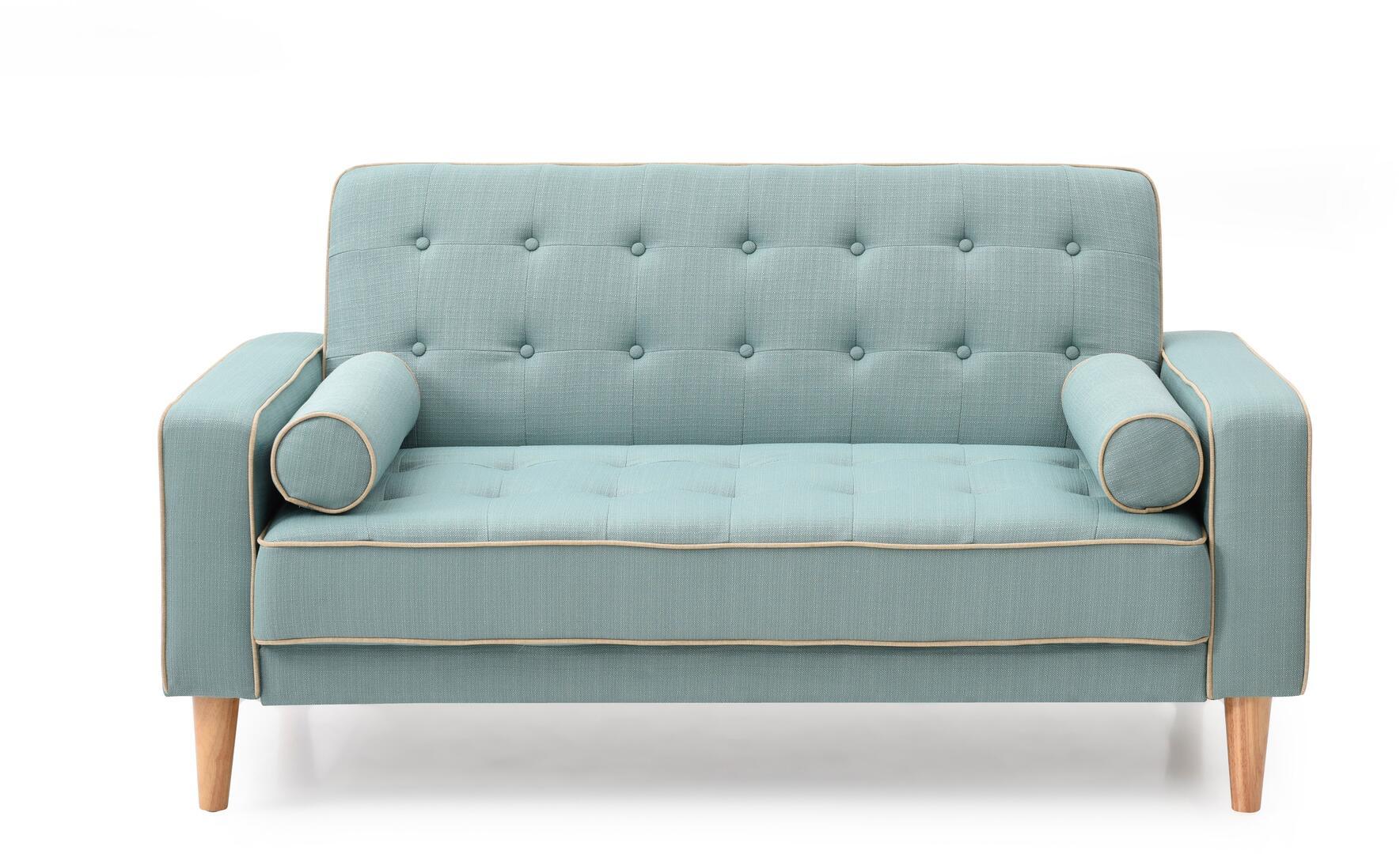 Glory Furniture G833al Navi Series Loveseat Sleeper Fabric Sofa