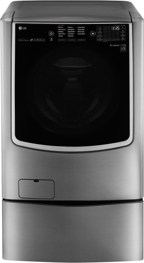 Lg Wm9500hva 30 Inch Twin Wash Series 5 6 Cu Ft Front