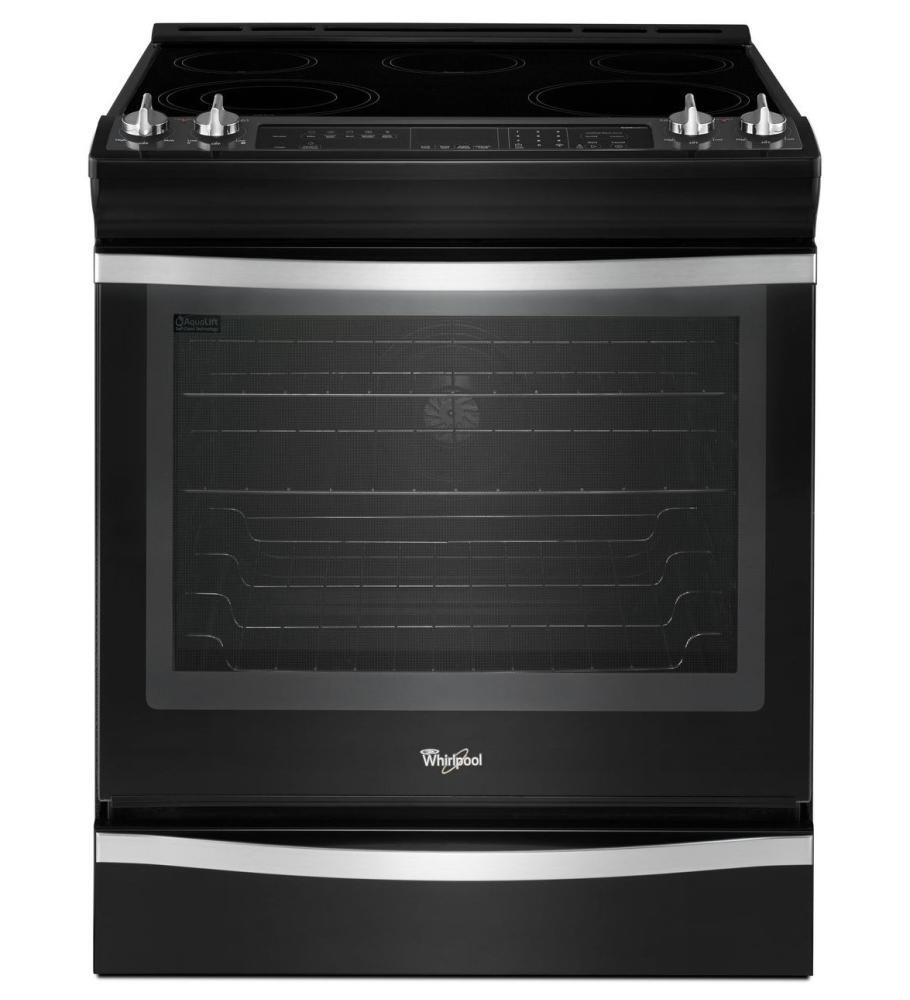 whirlpool wee760h0ds slide in electric range with smoothtop cooktop 6 2 cu ft primary oven. Black Bedroom Furniture Sets. Home Design Ideas