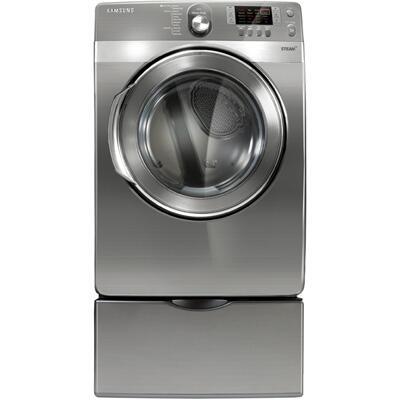 Samsung Appliance Dv448agp Gas Dryer In Platinum