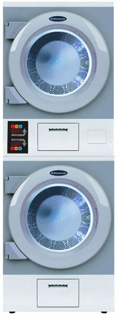 Crossover DAWS2ENM 27 Inch Commercial Electric Single Pocket Laundry on