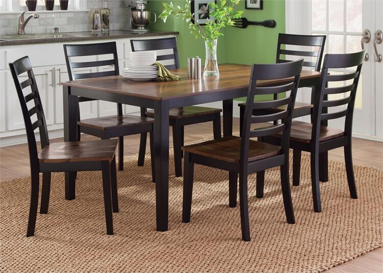 Liberty furniture 56cd7rls caf dining room sets for Dining room furniture 0 finance