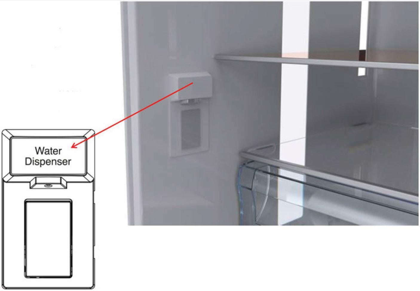 Dacor Distinctive f · Dacor Distinctive Internal Water Dispenser ...  sc 1 st  Appliances Connection & Dacor DTF36FCS 36 Inch Distinctive Series Counter Depth French ... pezcame.com