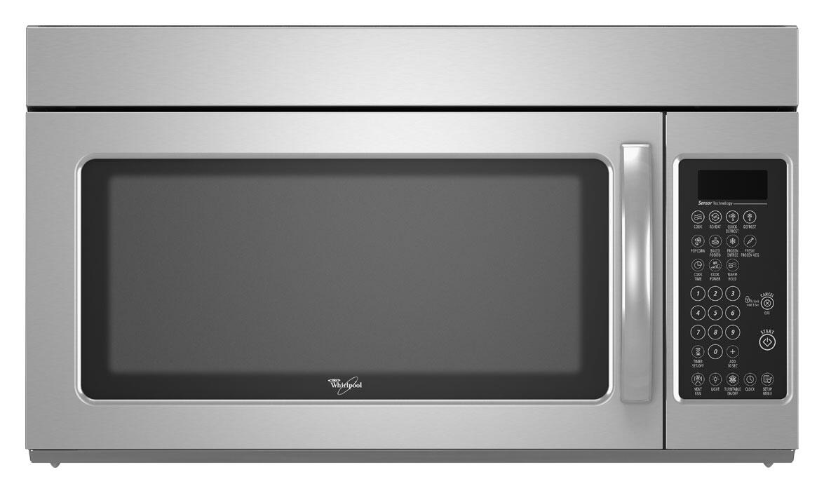 Whirlpool Wmh2175xvt 1 7 Cu Ft Over The Range Microwave