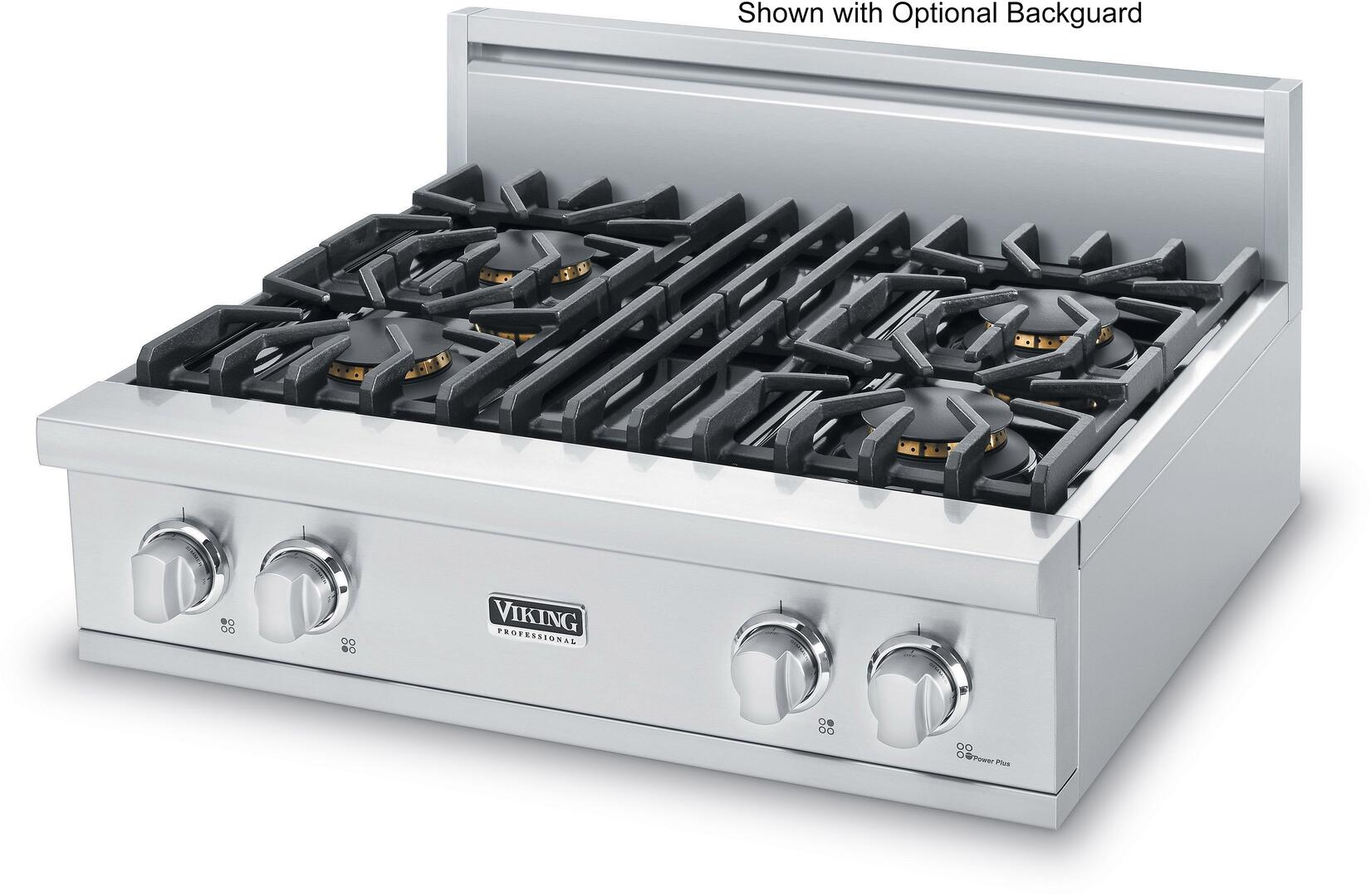Viking VGRT5304BSS 30 Inch 5 Series Gas Sealed Burner Style ...
