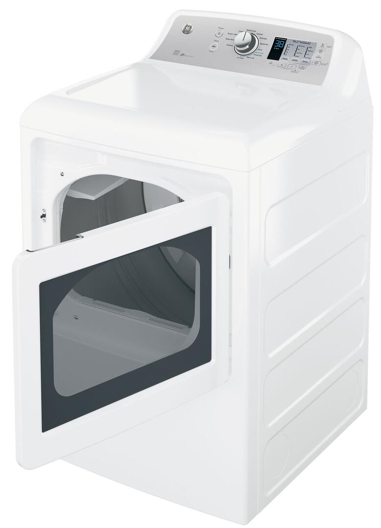 Ge Gtd65ebsjws 27 Inch White 7 4 Cu Ft Electric Dryer