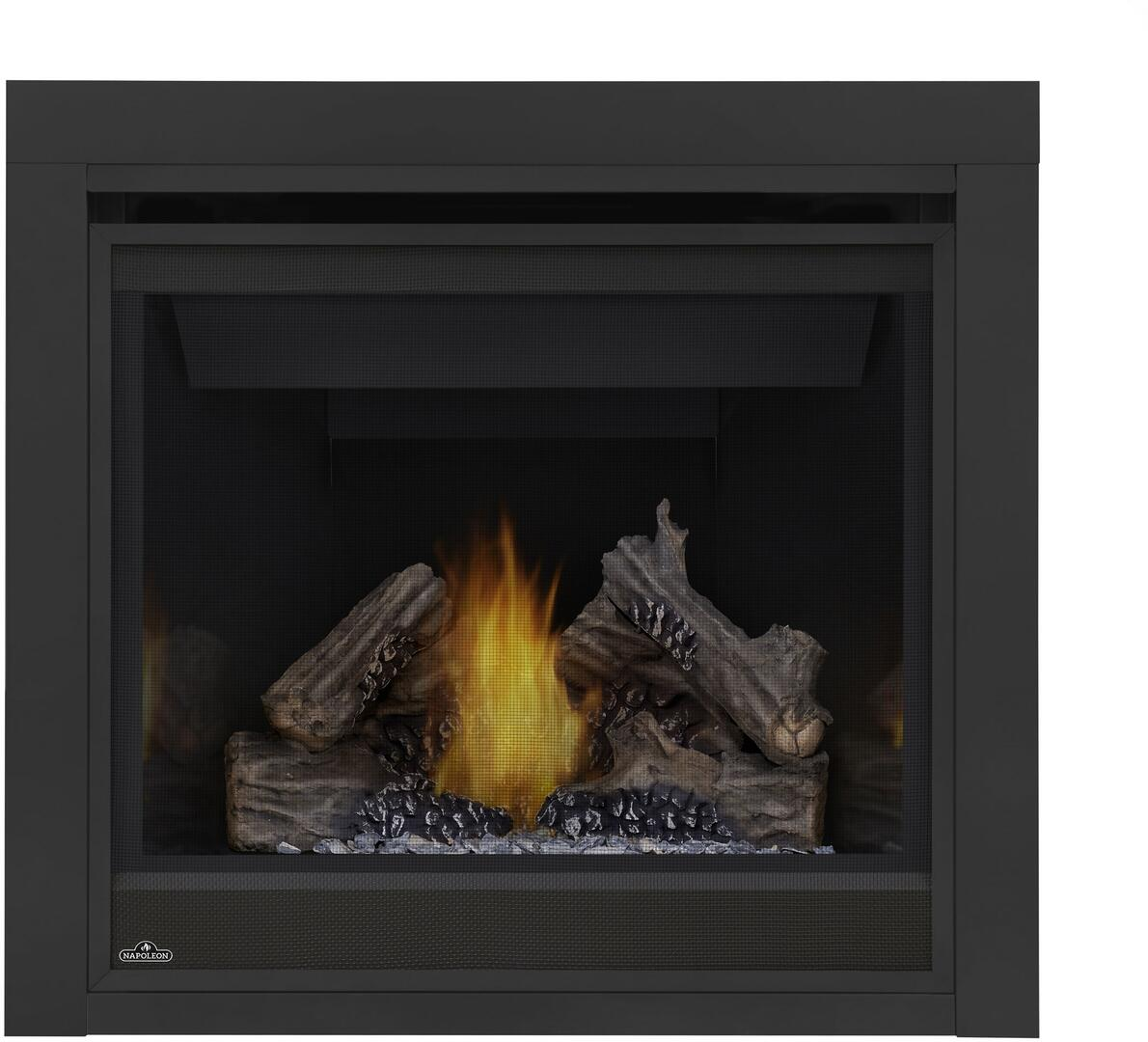 napoleon b36ntr ascent series direct vent natural gas fireplace