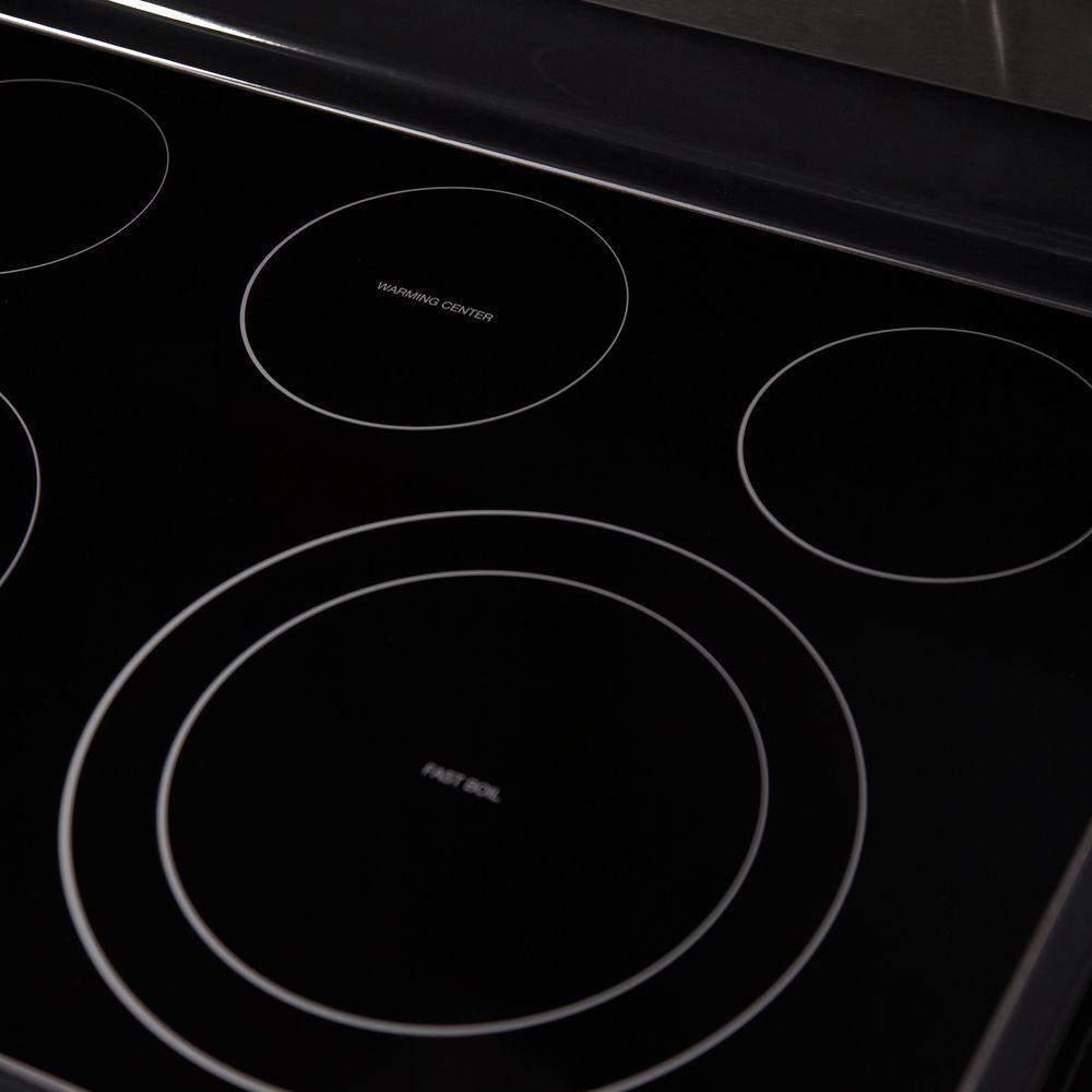 samsung appliance ne595r0absr electric freestanding range