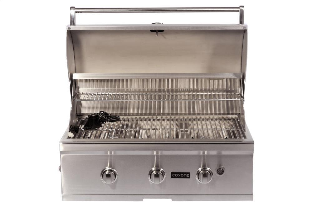 Coyote cc3lp built in grill in stainless steel for Coyote outdoor grills reviews
