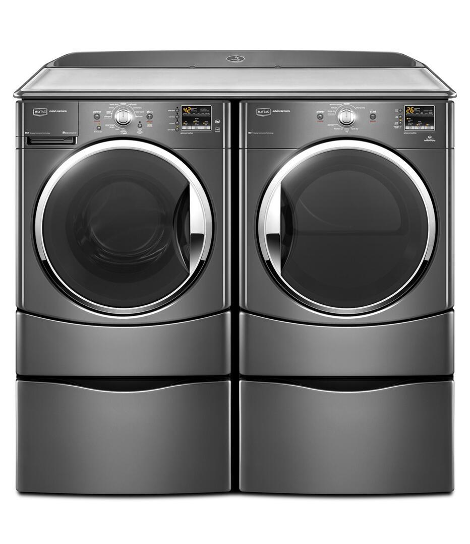 Maytag Mhwe251yg 3 5 Cu Ft Front Load Washer In Grey