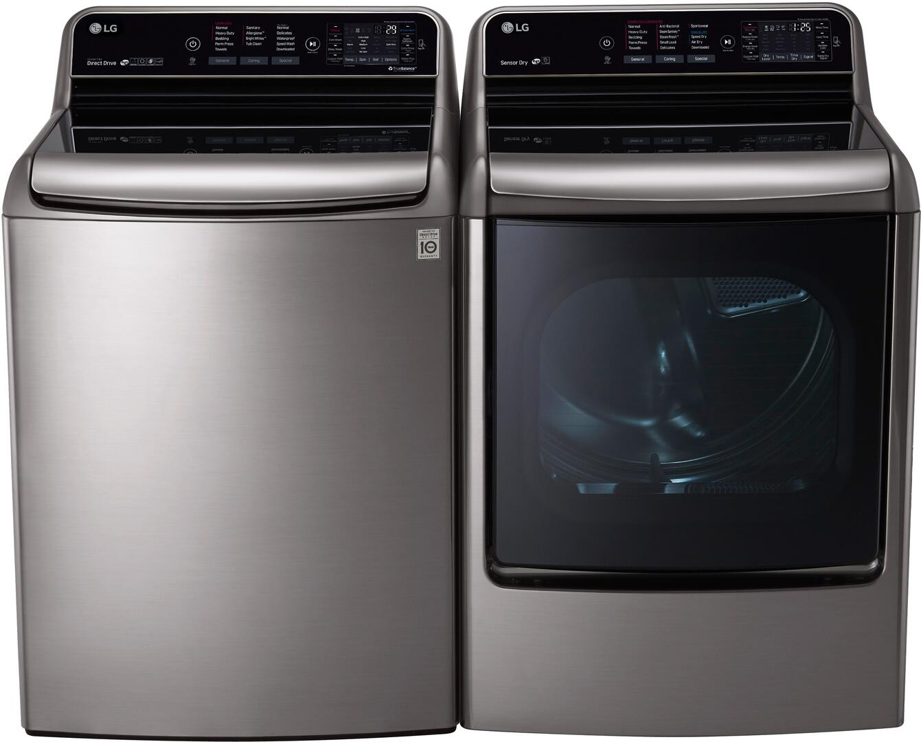 Lg 722772 Washer And Dryer Combos Appliances Connection