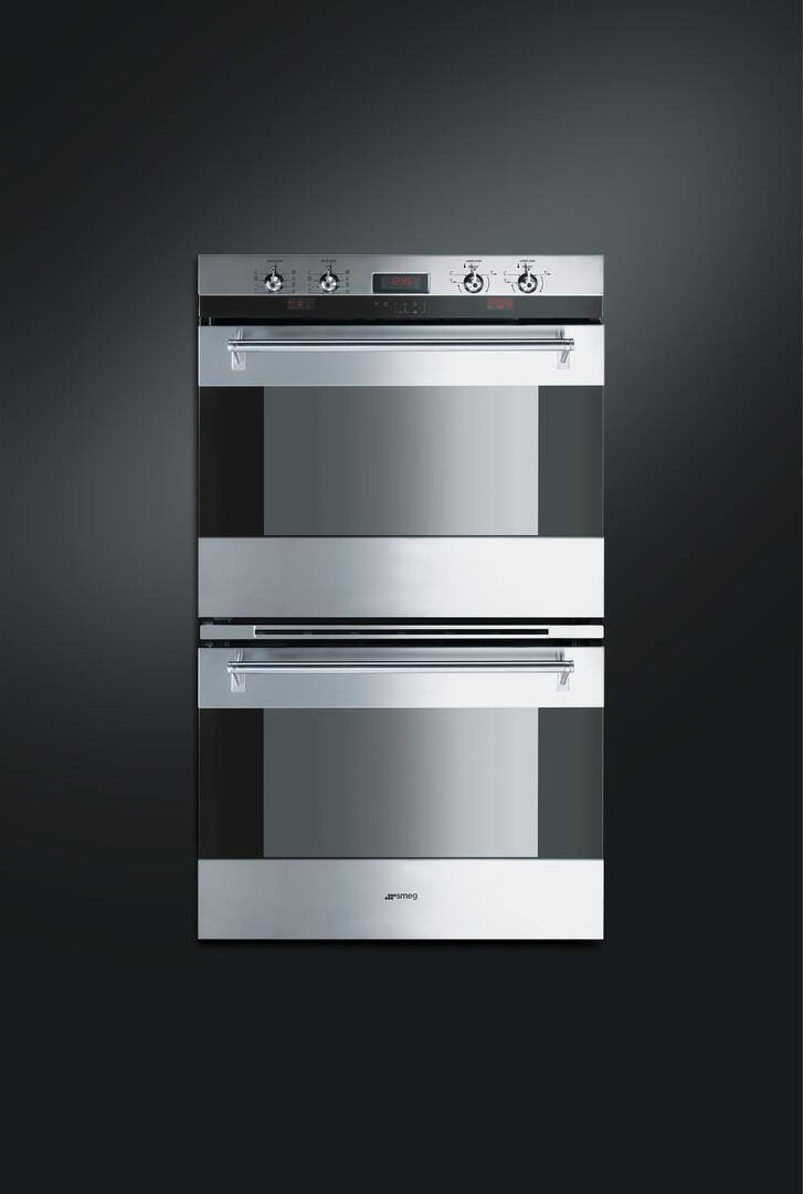 smeg dou330x 30 inch double wall oven   in stainless steel appliances connection Wiring a Kitchen Island Magic Chef Wall Oven Parts