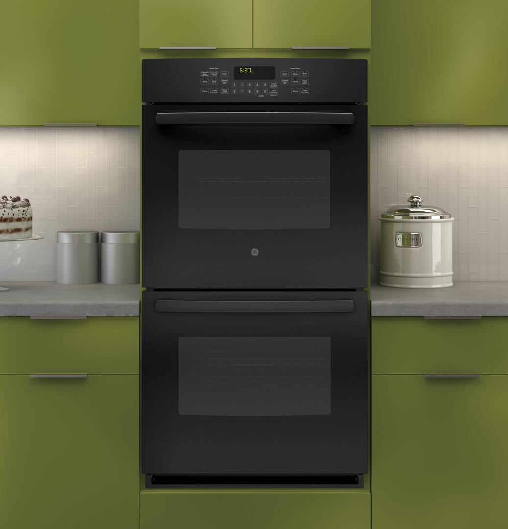 ge double wall oven manual