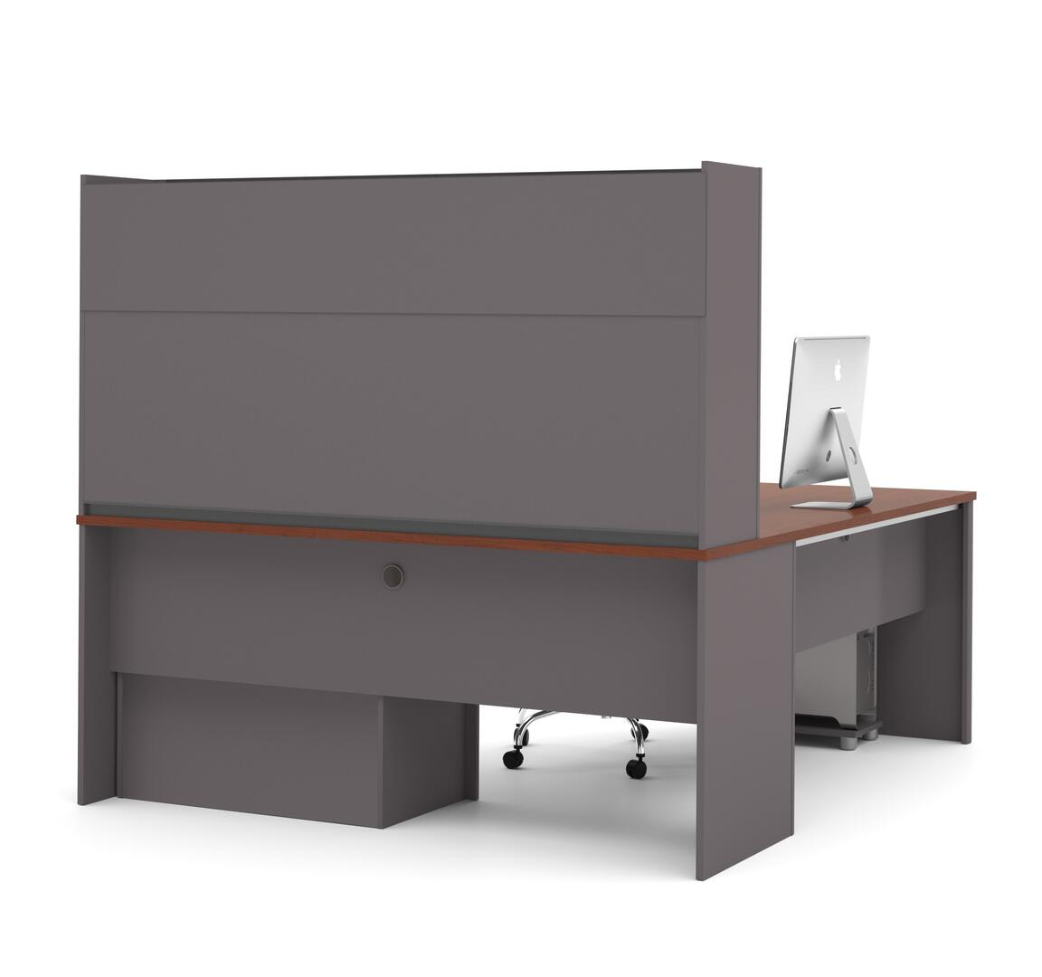 Bestar furniture 9386739 modern l shape office desk for Furniture connection