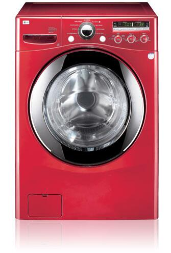 Lg Wm2301hr 4 2 Cu Ft Front Load Washer In Red