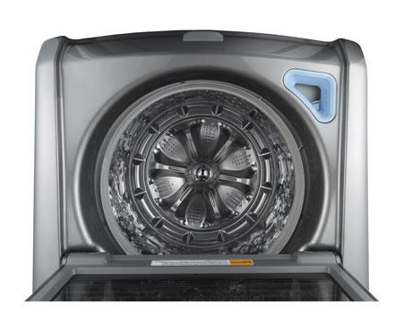 Lg Wt5170hv 4 7 Cu Ft Top Load Washer In Graphite Steel