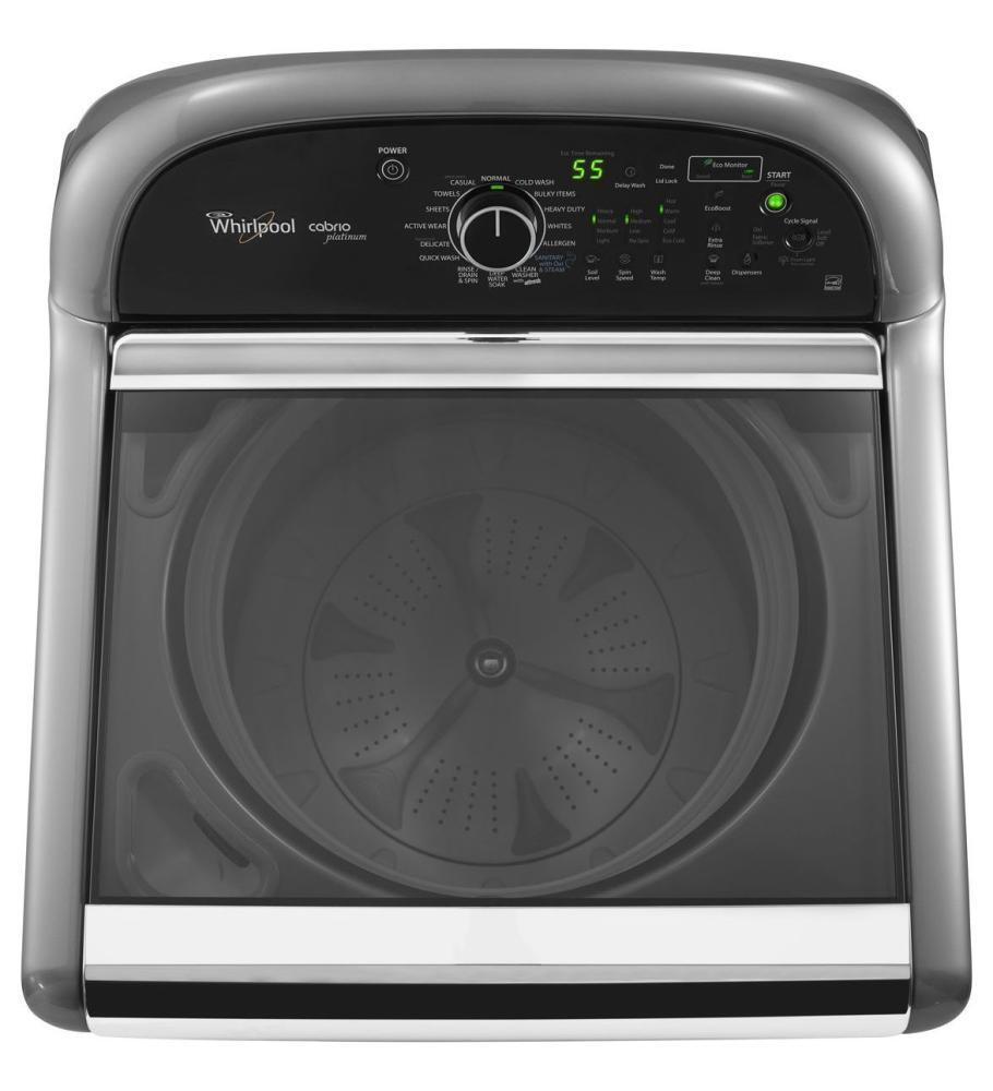 Whirlpool Wtw8900bc Cabrio Platinum Series 4 8 Cu Ft Top