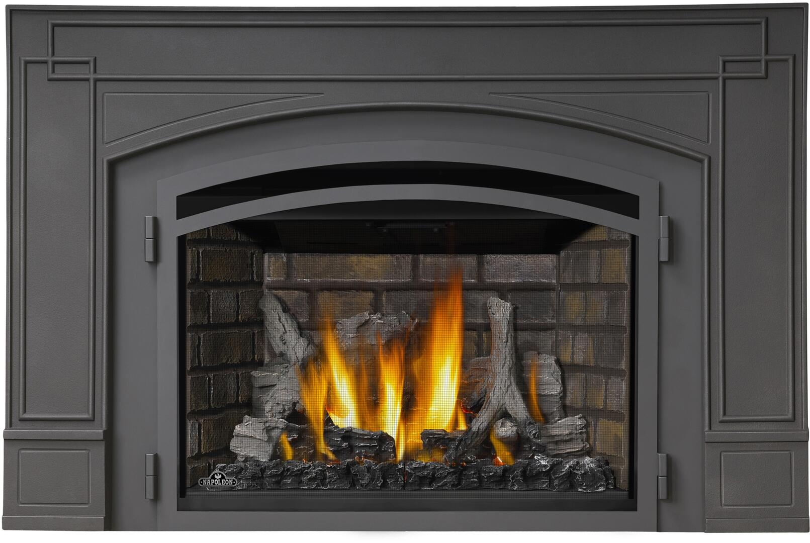 napoleon ir3n1sb infrared series direct vent natural gas fireplace