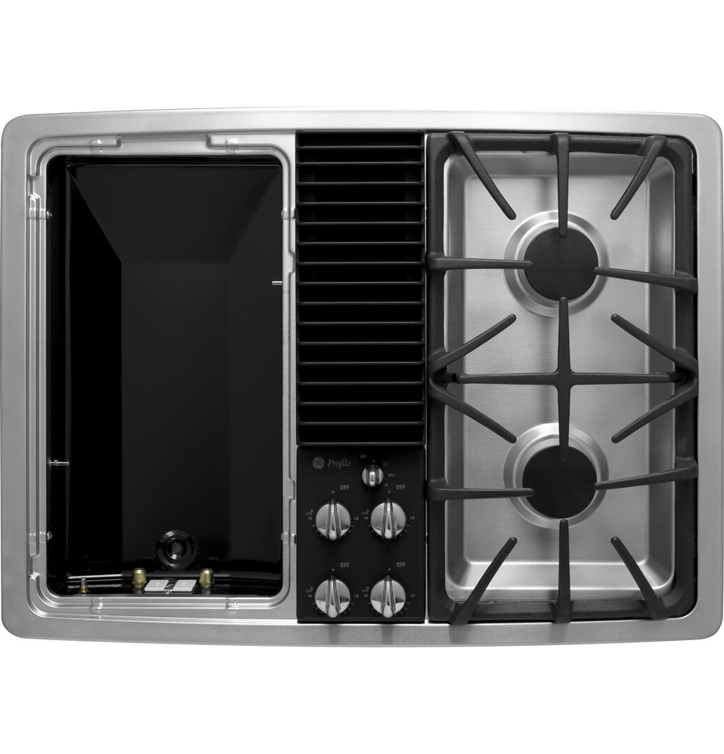Ge Profile Pgp990senss Gas Modular Style Cooktop In