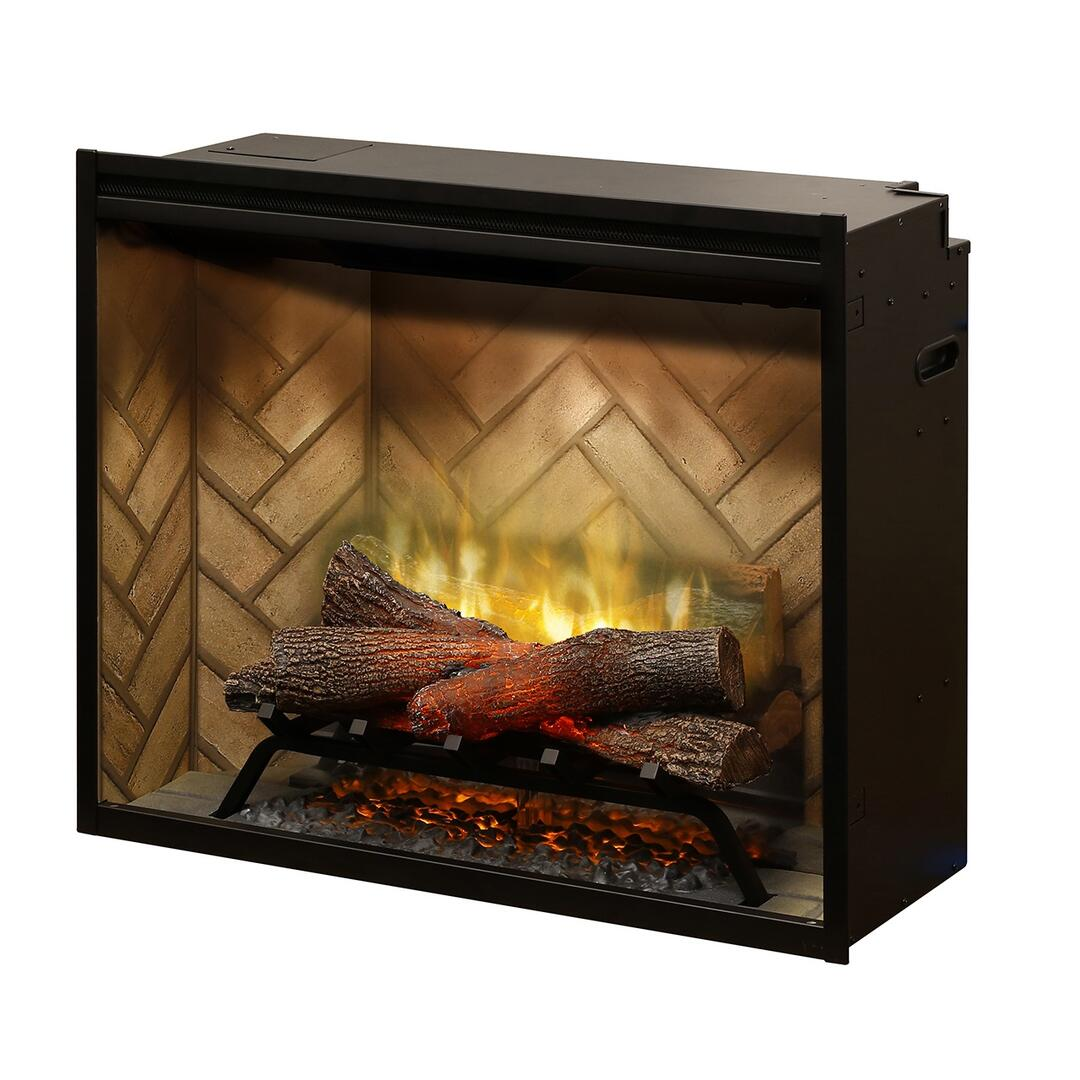 dimplex rbf30 revillusion series vent free electric fireplace