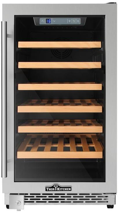 Thor Kitchen HWC2405U 18 Inch Built-In and Freestanding Wine Cooler